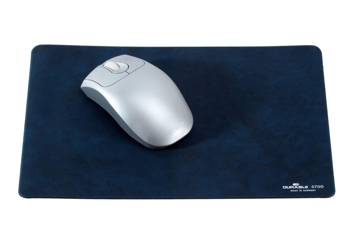 Mauspad Durable extrem flach dunkelblau, Art.-Nr. 5700-DBL - Paterno B2B-Shop
