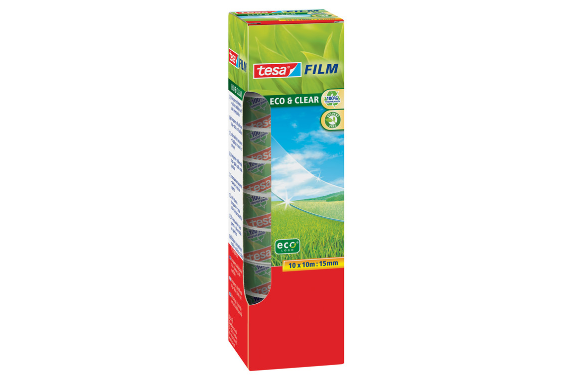 Klebeband Tesafilm Eco 15mm 10lfm, Art.-Nr. 57070-00 - Paterno B2B-Shop