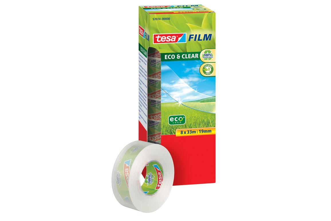 Klebeband Tesafilm Eco 19mm 33lfm, Art.-Nr. 57074-00 - Paterno B2B-Shop