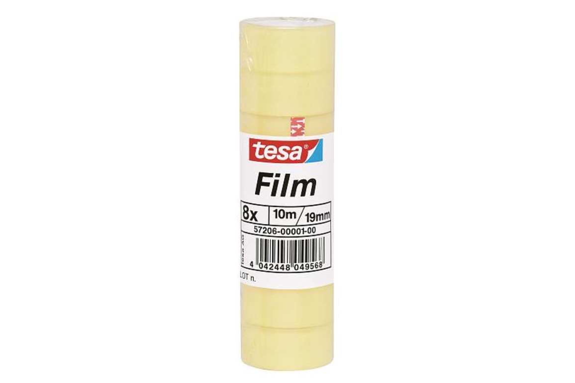 Klebeband Tesafilm 19mm 10lfm, Art.-Nr. 57206 - Paterno B2B-Shop