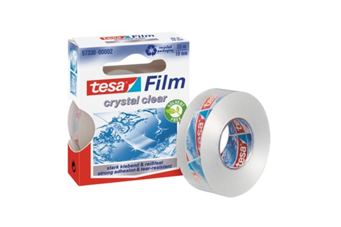 Klebeband Tesafilm 19mm 33lfm kristall klar, Art.-Nr. 57330 - Paterno B2B-Shop