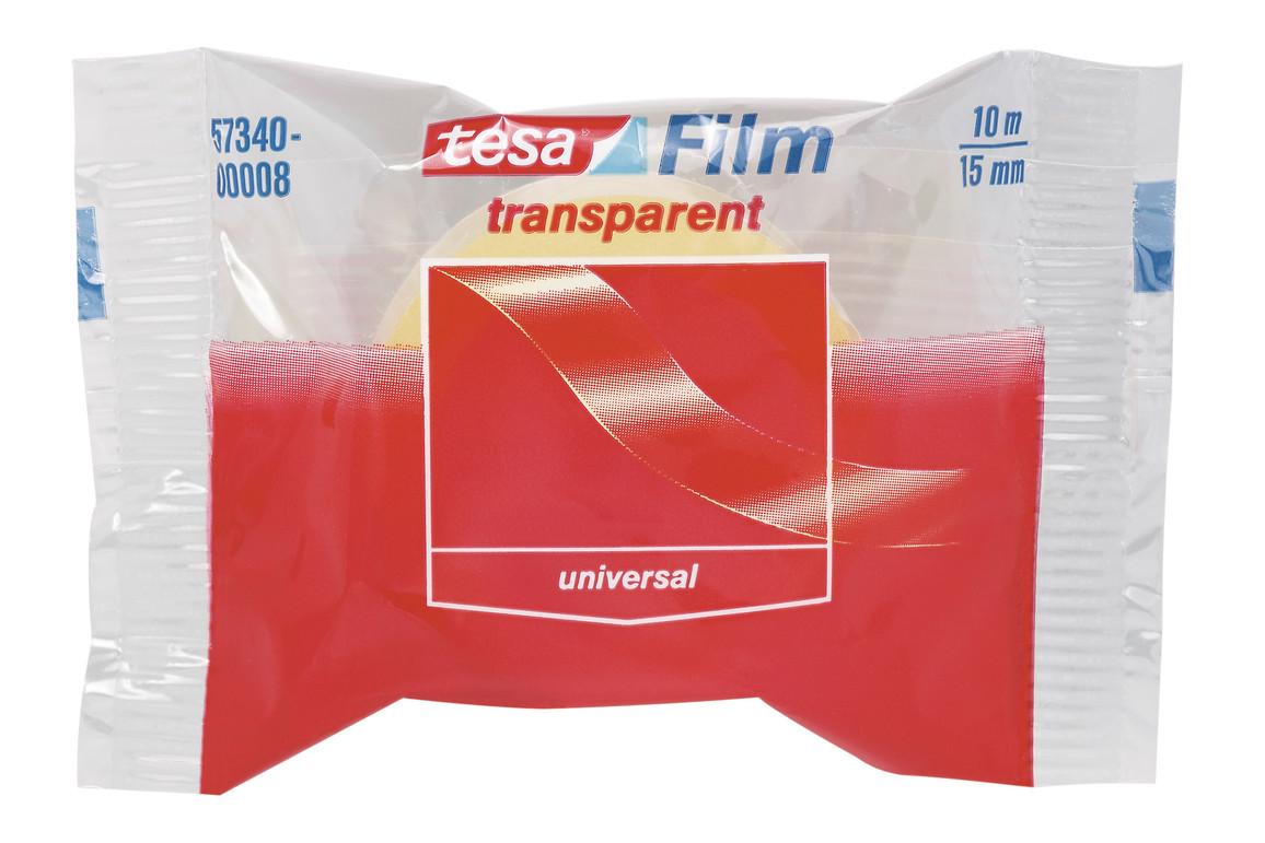Klebeband Tesafilm 15mm 10lfm transparent, Art.-Nr. 57340 - Paterno B2B-Shop