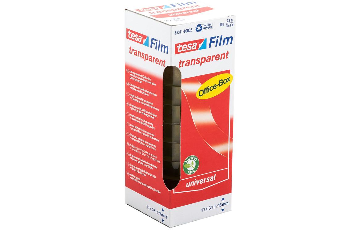 Klebeband Tesafilm 15mm 33lfm transparent, Art.-Nr. 57371 - Paterno B2B-Shop