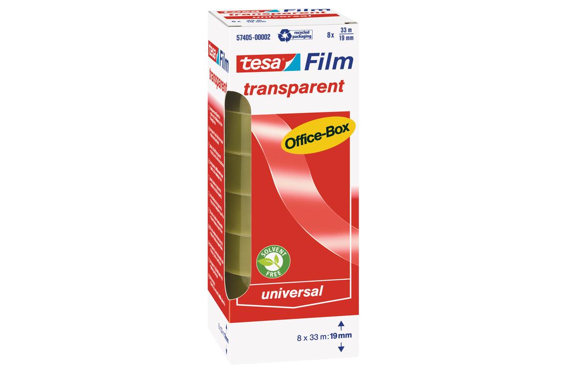Klebeband Tesafilm 19mm 33lfm transparent, Art.-Nr. 57405 - Paterno B2B-Shop
