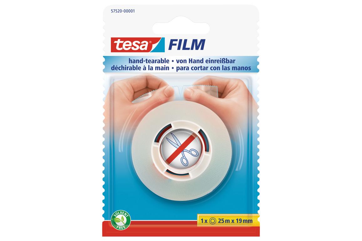 Klebeband Tesafilm 19mm 25lfm transparent, Art.-Nr. 57520-00 - Paterno B2B-Shop