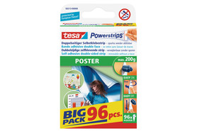 "Powerstrips Tesa Posterstrips ""Big Pack"", Art.-Nr. 58213-00"