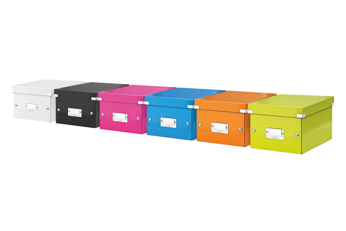 Aufbewahrungsbox Leitz Click & Store A5 blau, Art.-Nr. 6043-00-BL - Paterno B2B-Shop