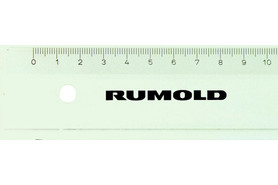 Lineal Rumold FL46 30cm transparent, Art.-Nr. 61003 - Paterno B2B-Shop