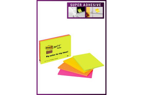Haftnotiz Post-it Super Sticky, Großformat, Art.-Nr. 6445-SSP
