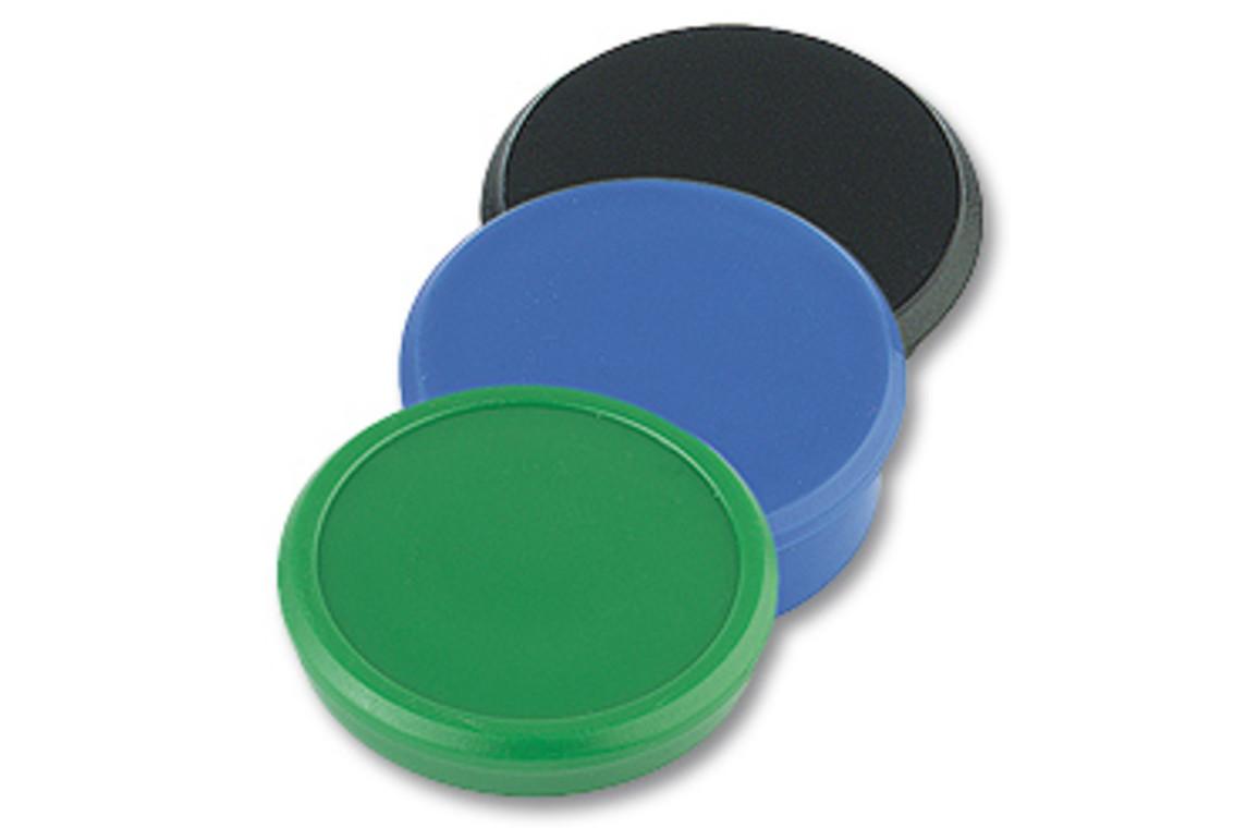 Magnete Alco rund 24mm 6er schwarz, Art.-Nr. 682A-SW - Paterno B2B-Shop