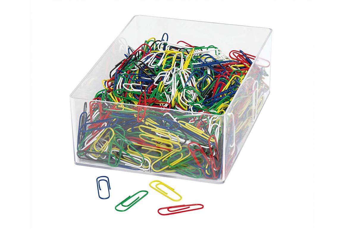 Büroklammern Wedo 27mm  Kunststoff blau, Art.-Nr. 9012446-BL - Paterno B2B-Shop
