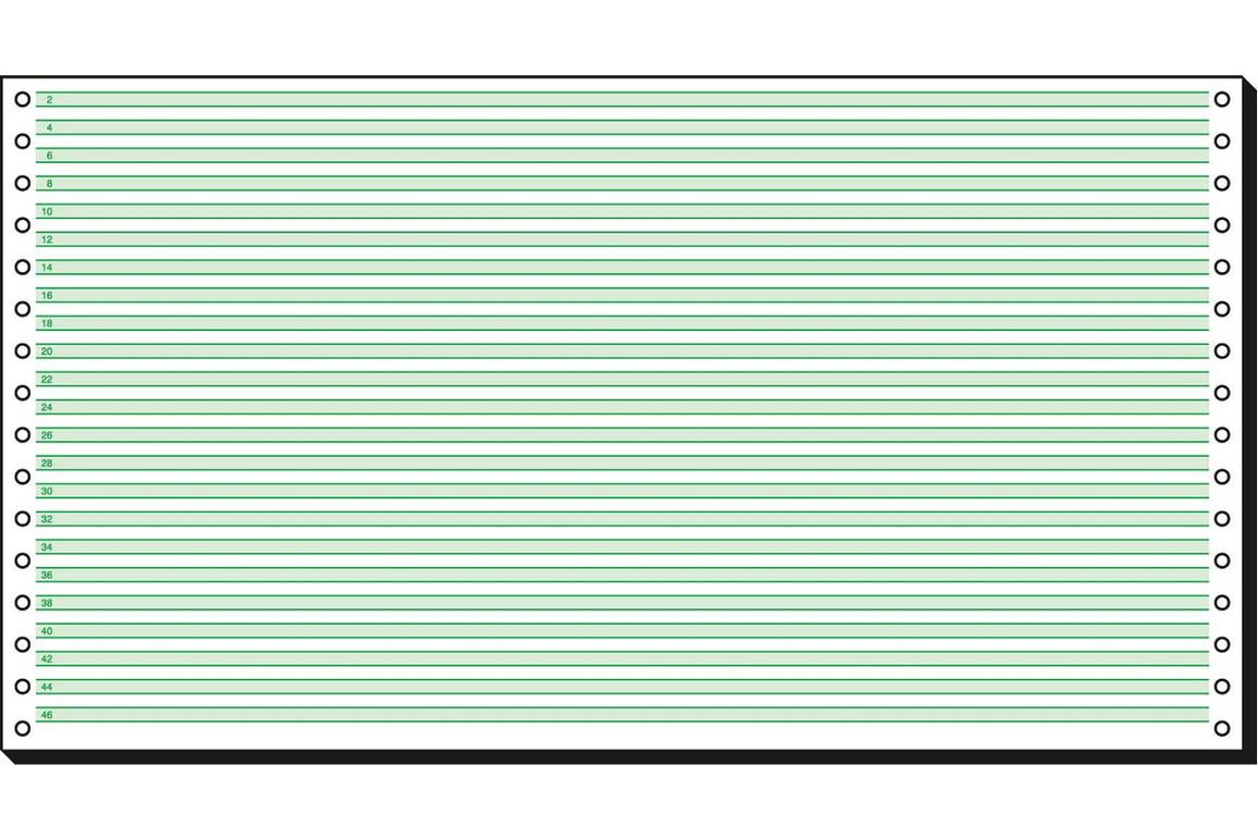 "Papier EDV 8""x375 mm  ZEBRA, Art.-Nr. 91565 - Paterno B2B-Shop"