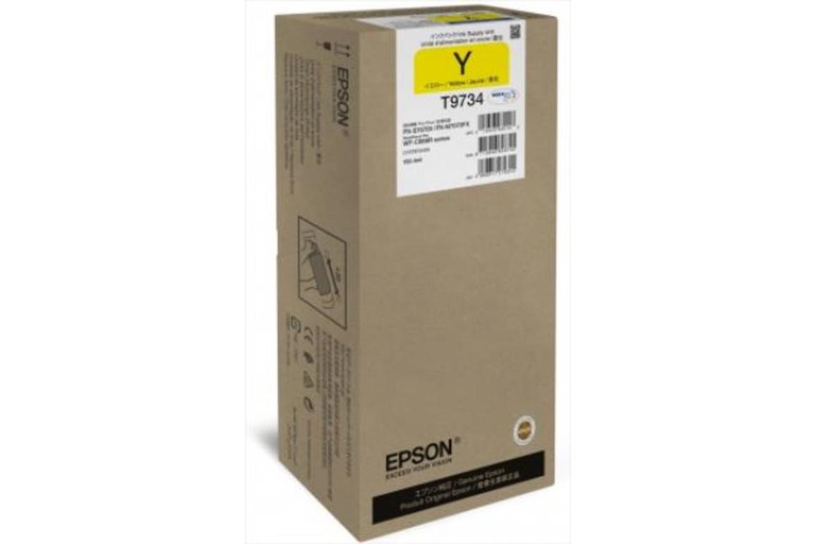 Epson Ink yell. T9734 XL, Art.-Nr. C13T973400 - Paterno B2B-Shop