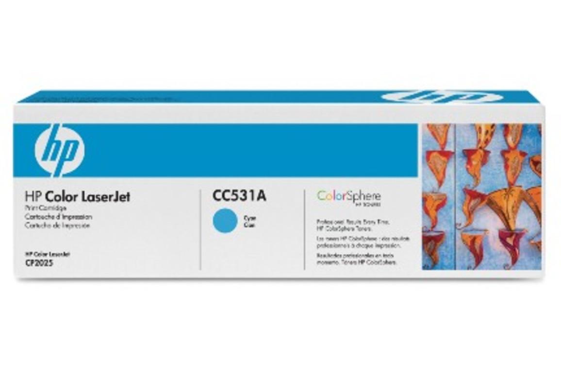 Toner Original HP CC531 cyan, Art.-Nr. CC53-CY - Paterno B2B-Shop