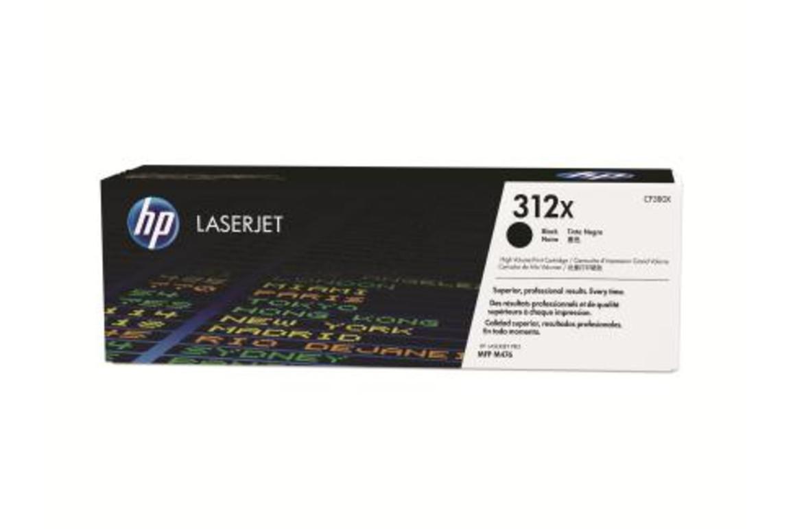 HP LJ Cartridge Nr.312X black 4,4K, Art.-Nr. CF380X - Paterno B2B-Shop