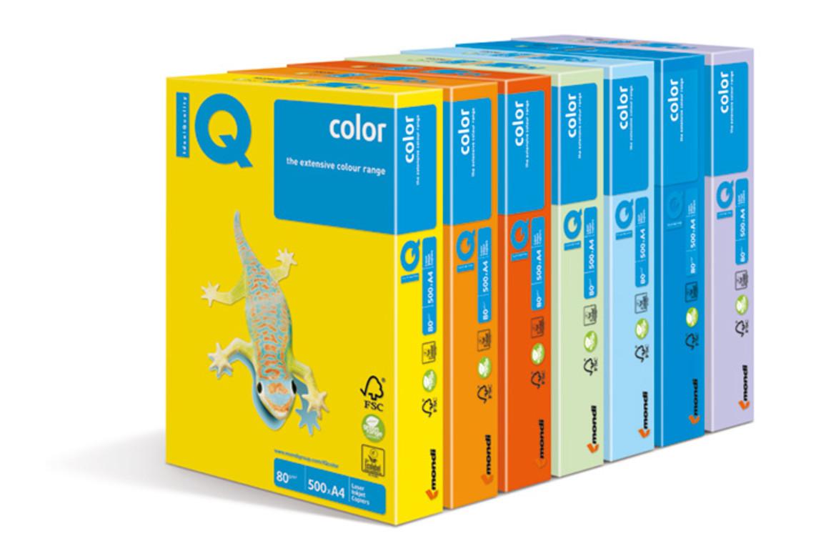 Kopierpapier IQ Color kanariengelb CY39 A4 120 gr., Art.-Nr. IQC412-I-CY39 - Paterno B2B-Shop