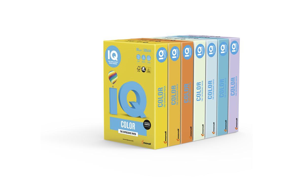 Kopierpapier IQ Color lachs SA24 A4 80 gr., Art.-Nr. IQC480-P-LA - Paterno B2B-Shop
