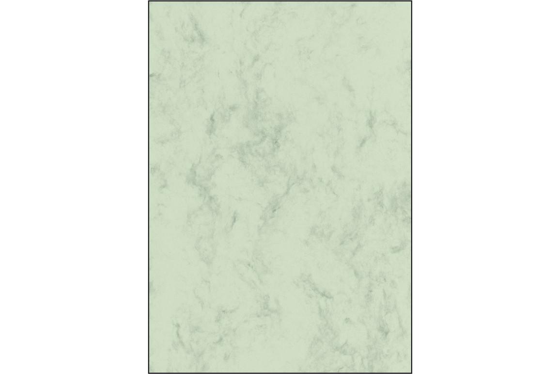 Designpapier Sigel A4  Marmor 200 gr. pastellgrün, Art.-Nr. DP552 - Paterno B2B-Shop