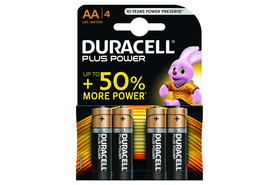 Batterie Duracell Mignon AA 1,5V, Art.-Nr. MN1500-4 - Paterno B2B-Shop