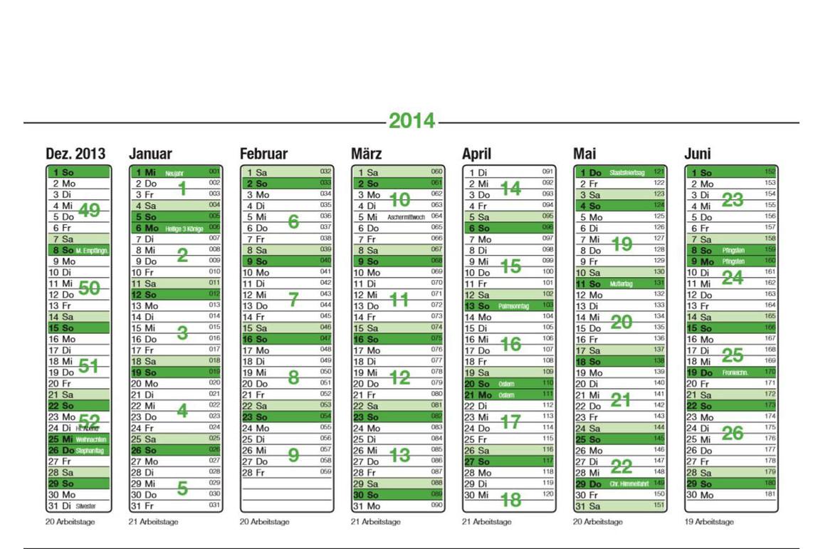 Blattkalender 2021 A5, Art.-Nr. 015 - Paterno B2B-Shop