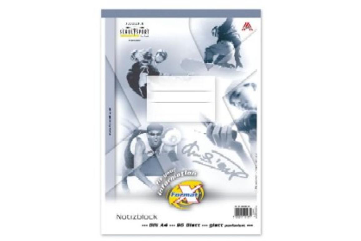 Notizblock Format X A4 96 Bl. lin., Art.-Nr. 036496-10 - Paterno B2B-Shop