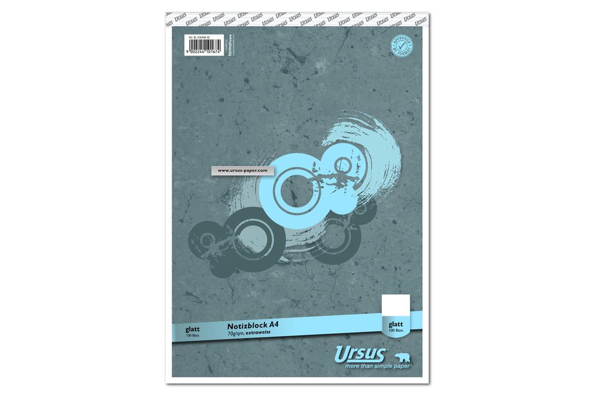 Notizblock Format X A4 96 Bl. kar., Art.-Nr. 036496-20 - Paterno B2B-Shop