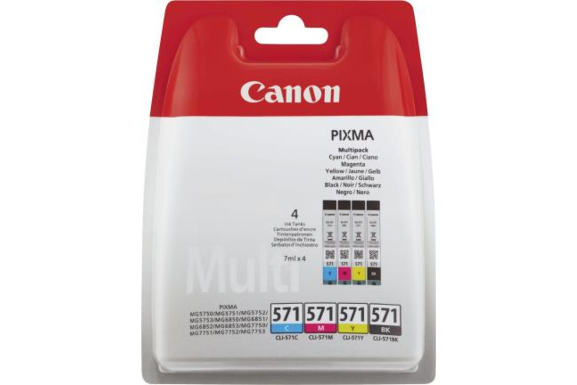 Canon Ink Multi Pack C/M/Y/BK je 7ml 1x4, Art.-Nr. 0386C005 - Paterno B2B-Shop