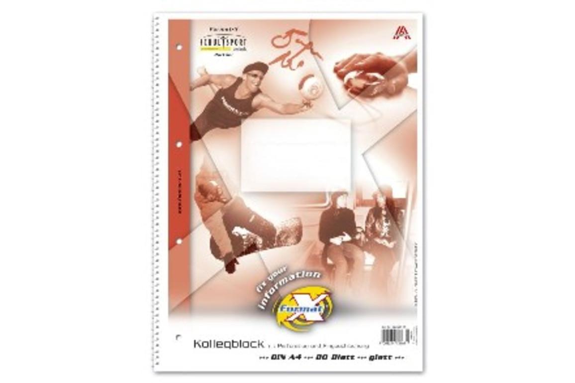 Kollegblock Format X A4 80 Bl. lin., Art.-Nr. 044340-10 - Paterno B2B-Shop