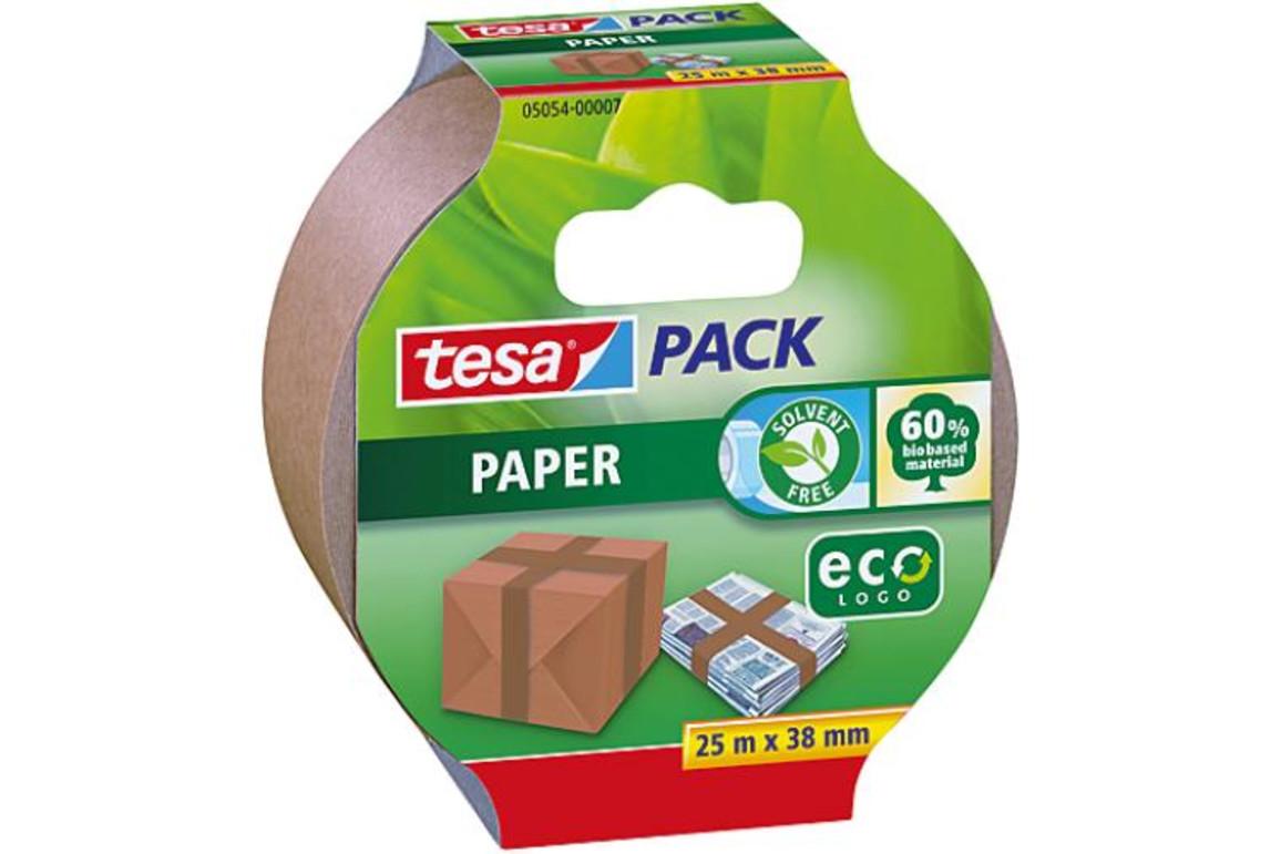 Klebeband Tesa 38 mm 25 lfm braun aus Papier, Art.-Nr. 05054-07 - Paterno B2B-Shop