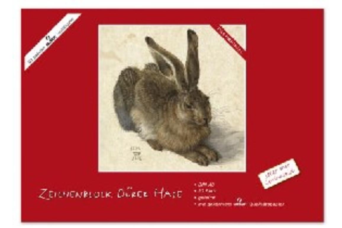 Zeichenblock Dürer Hase A3 18 Bl., Art.-Nr. 051320 - Paterno B2B-Shop