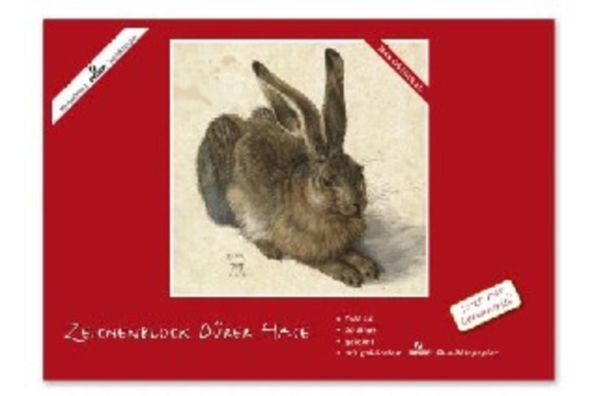 Zeichenblock Dürer Hase A4 18 Bl., Art.-Nr. 051420 - Paterno B2B-Shop