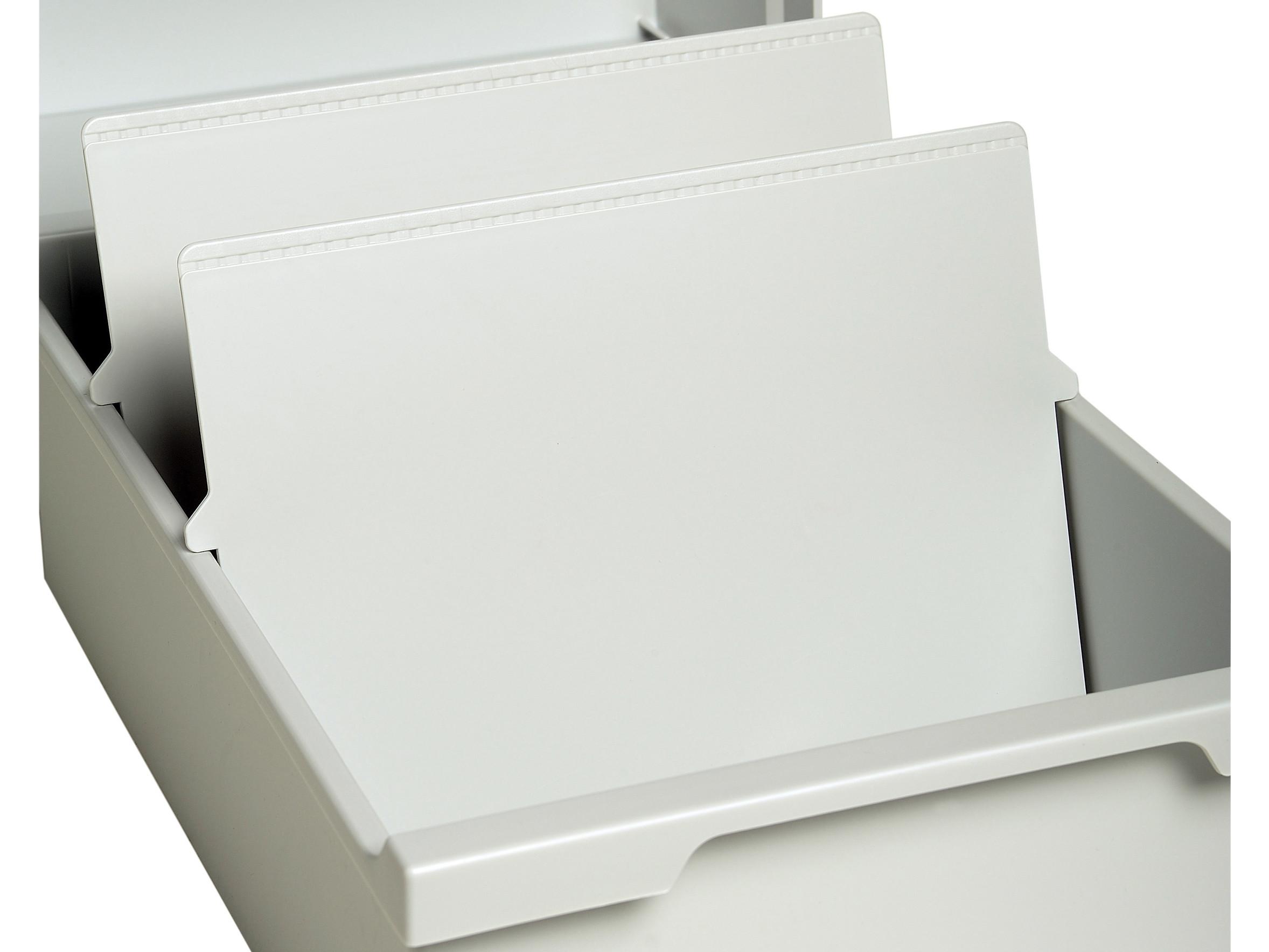 Trennplatten Multiform A6 4x6 Lichtgrau Art Nr 05424000