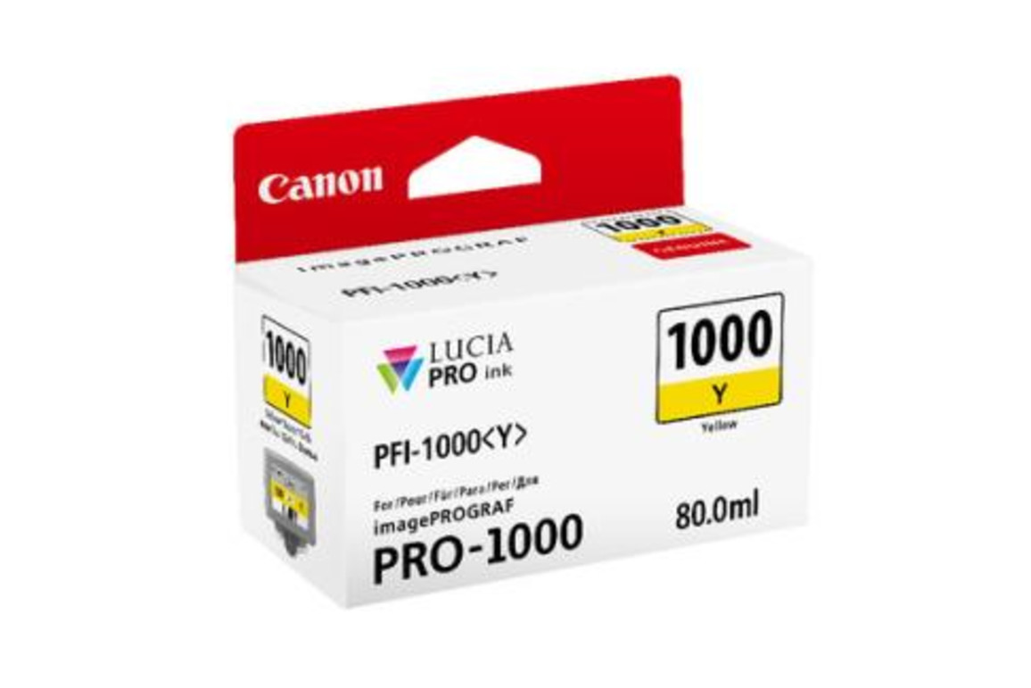 Canon Ink yell. 80ml, Art.-Nr. 0549C001 - Paterno B2B-Shop