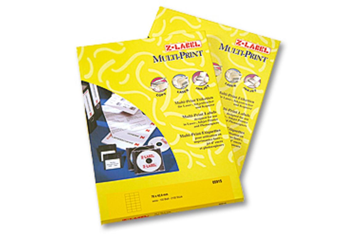 Kopieretiketten A4 Z-Products 105 x 99 mm, Art.-Nr. 05755 - Paterno B2B-Shop