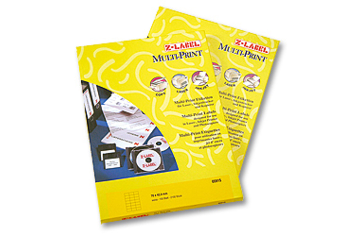 Kopieretiketten A4 Z-Products 105 x 148 mm, Art.-Nr. 05924 - Paterno B2B-Shop