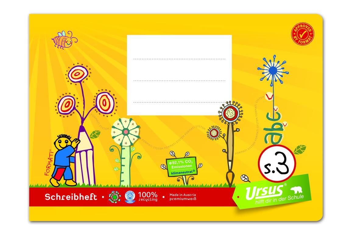 Heft Formati S3 A5 quer 20 Bl. lin., Art.-Nr. 060530-81 - Paterno B2B-Shop
