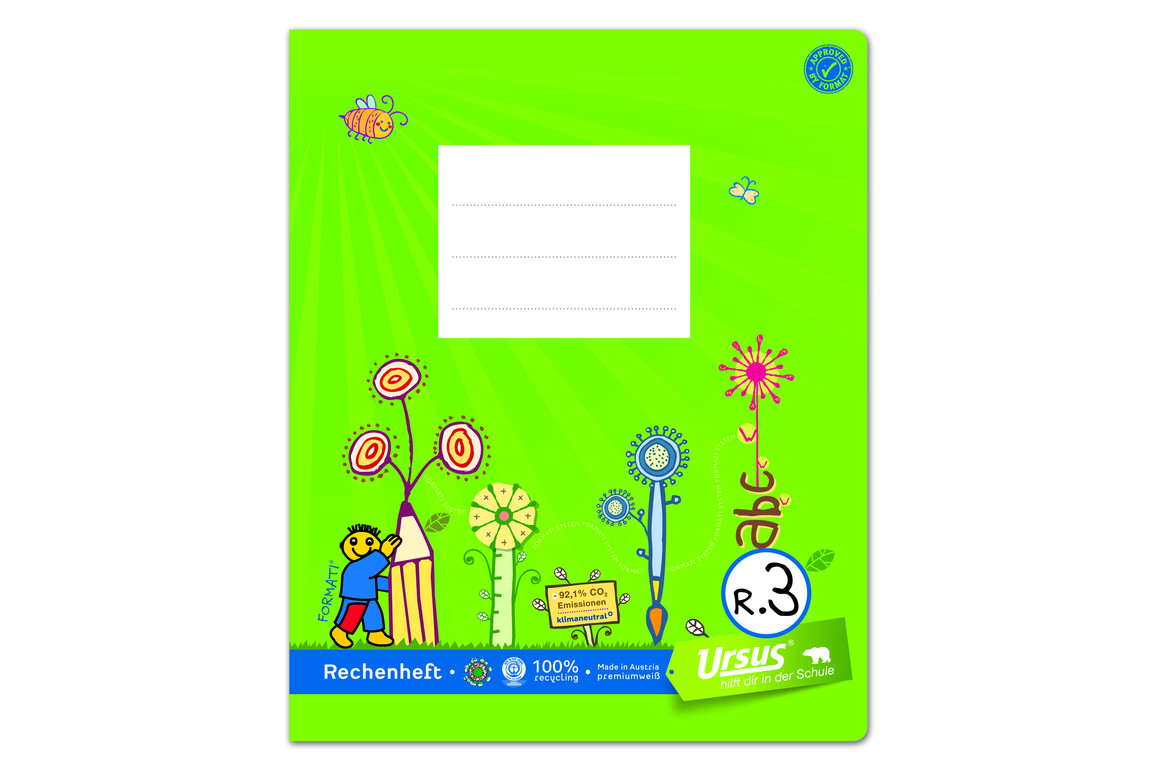 Heft Formati R3 Quart 20 Bl. kar., Art.-Nr. 060561063 - Paterno B2B-Shop