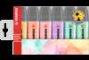 Textmarker Stabilo Boss 70 pastellfarben 6er-Etui, Art.-Nr. D70-6 - Paterno B2B-Shop