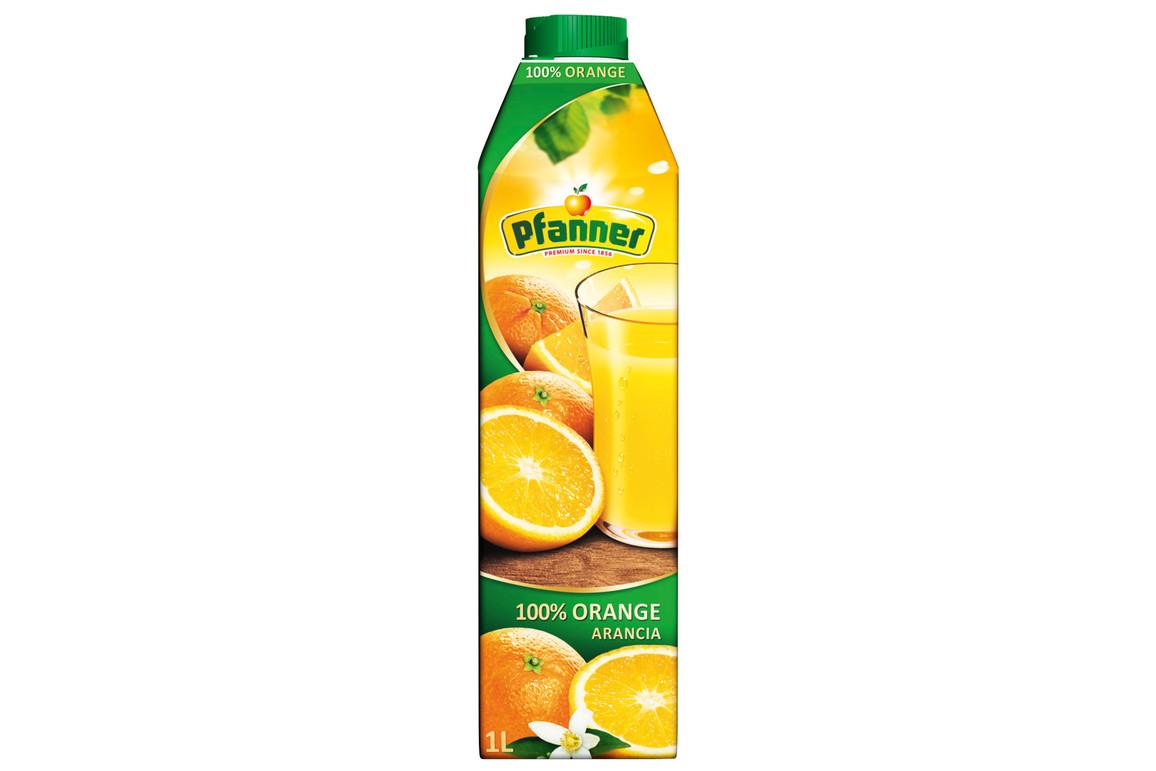 Orangensaft Pfanner 1 Liter, Art.-Nr. 0082999 - Paterno B2B-Shop