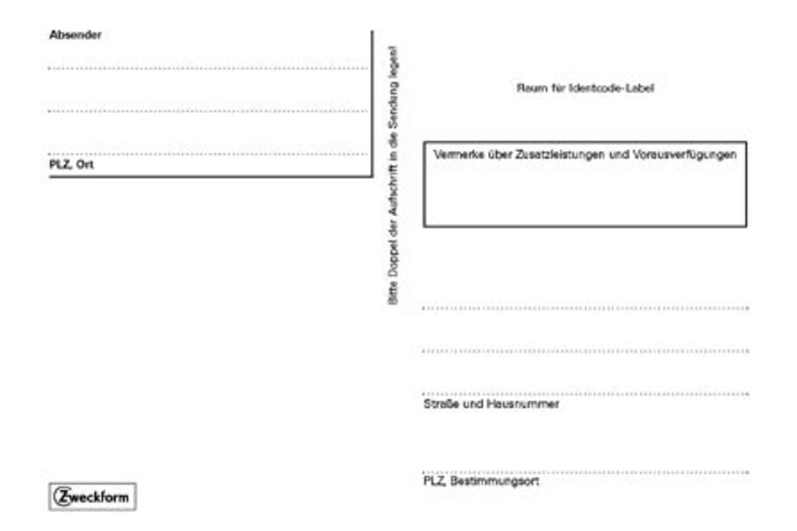 Adressaufkleberheft A6 Selbstkleber, Art.-Nr. 2826ZWF - Paterno B2B-Shop