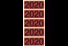 Jahresschild Bene 2020 rot, Art.-Nr. 092020 - Paterno B2B-Shop