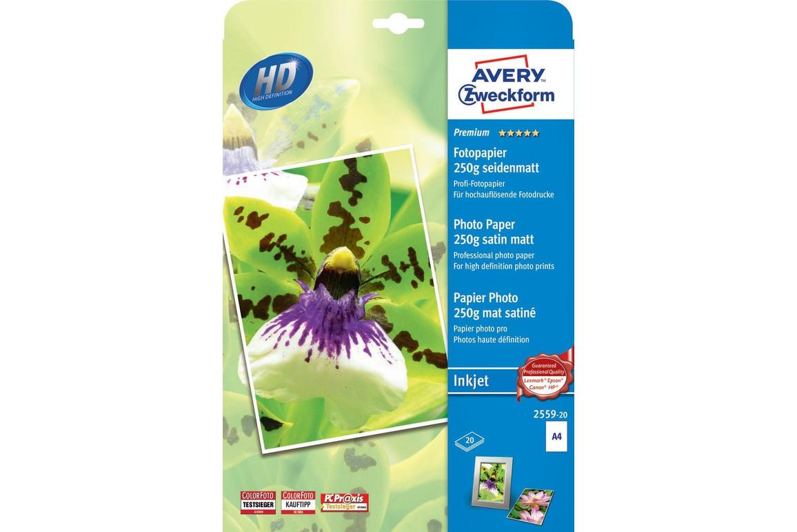 Fotopapier ZWF PREMIUM A4 250g 20Bl, Art.-Nr. 2559-20 - Paterno B2B-Shop