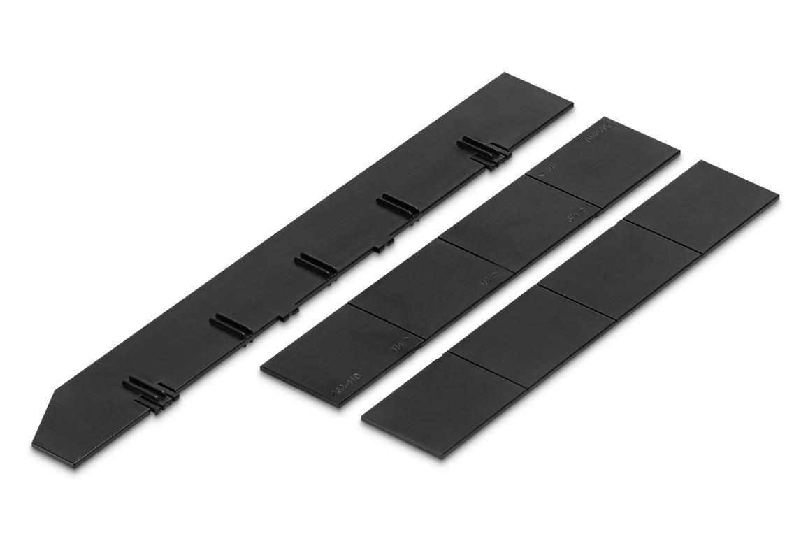 Unterteilungsset Styrodoc Set 1:1 schwarz, Art.-Nr. 268-420.95 - Paterno B2B-Shop