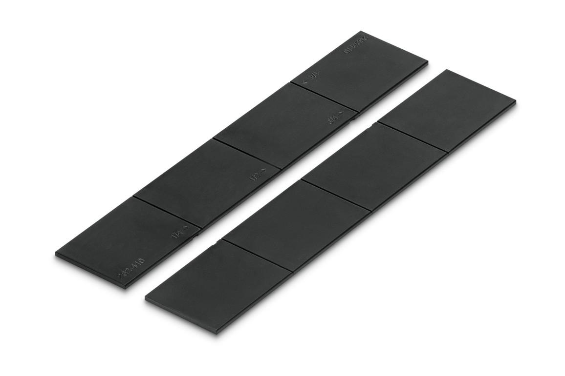 Unterteilungsset Styrodoc Set 2:2 schwarz, Art.-Nr. 268-430.95 - Paterno B2B-Shop