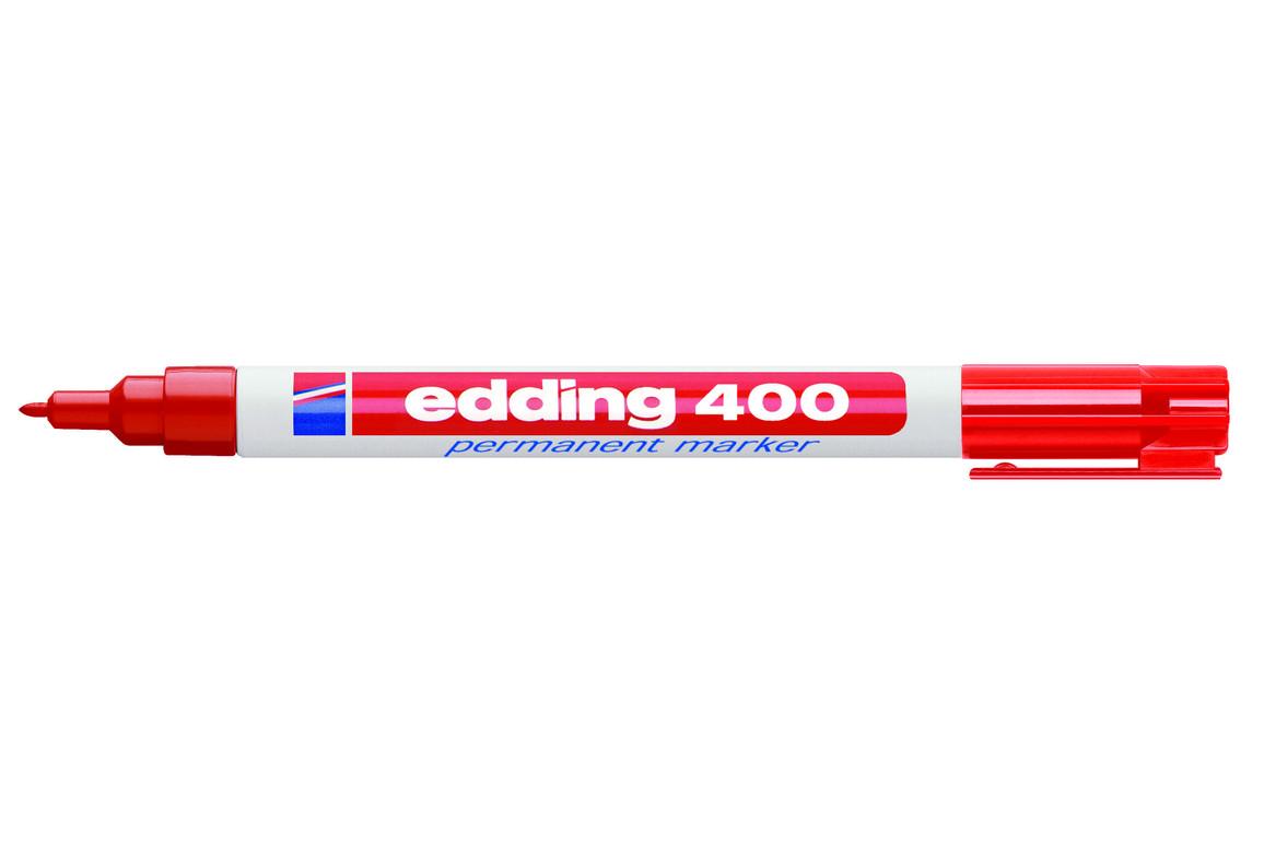 Marker Edding 400 permanent rot, Art.-Nr. 400-RT - Paterno B2B-Shop