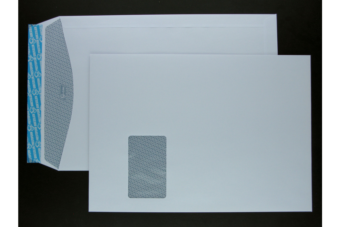 Kuverttasche Gössler C4F FL SV 100 gr. G-Line grey, Art.-Nr. 2078T - Paterno B2B-Shop