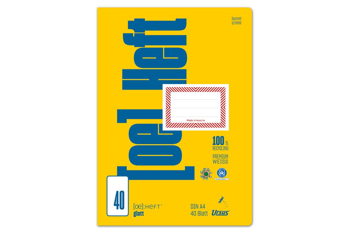 Heft Format FX 47 A4 40 Bl. kar. KR, Art.-Nr. 070440-23 - Paterno B2B-Shop