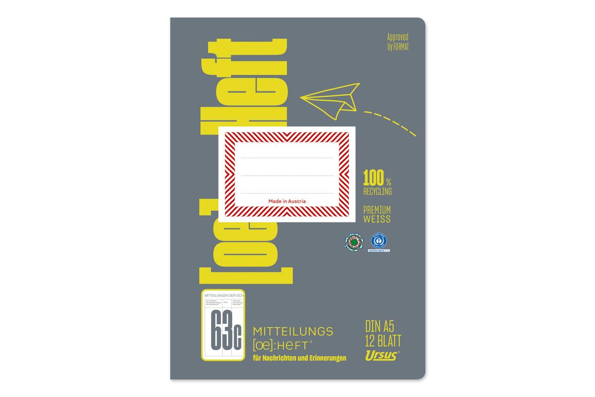 Mitteilungsheft Format X A5 12 Blatt, Art.-Nr. 078013 - Paterno B2B-Shop