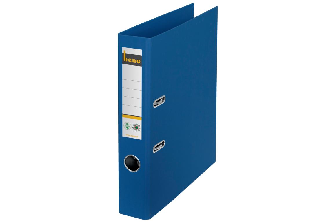 Ordner Bene CO2 neutral schmal blau, Art.-Nr. 301600-BL - Paterno B2B-Shop