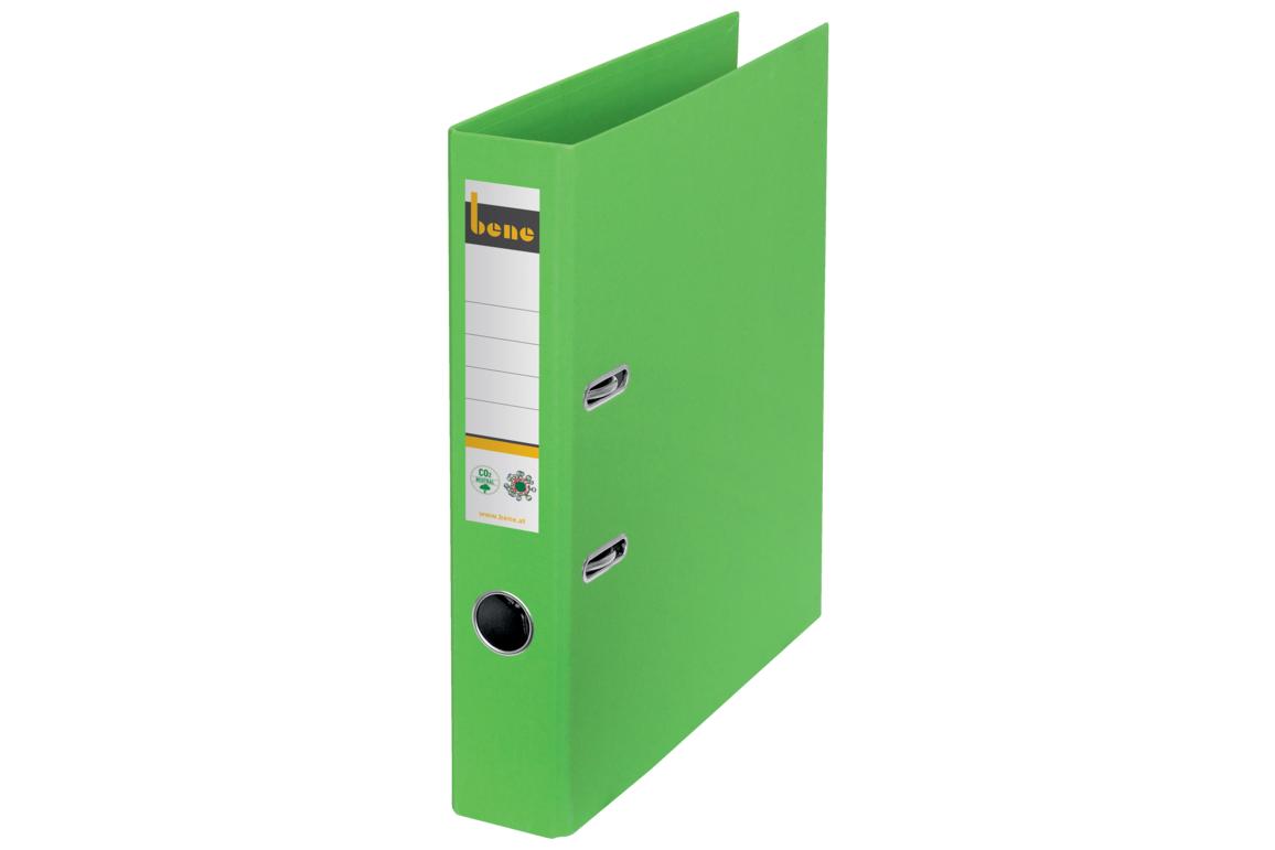 Ordner Bene CO2 neutral schmal grün, Art.-Nr. 301600-GN - Paterno B2B-Shop